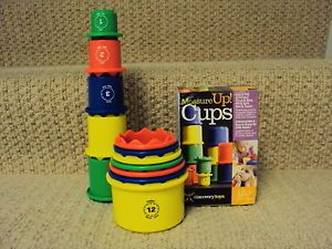 Discovery Toys Measure Up Cups 12 Nesting Stacking Cups