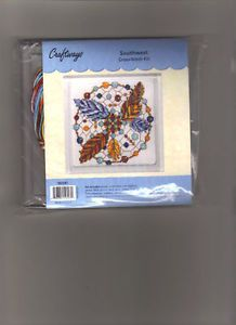 Southwest Native American Trivet Counted Cross Stitch Kit Craftway