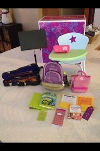 American Girl School Desk Set w Accessories Backordered Online