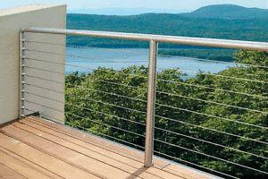 Stainless Steel Railing Barware