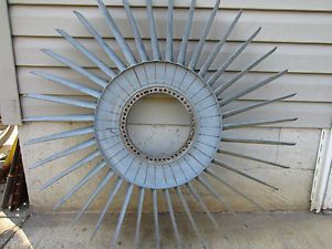 Jet Engine Gas Turbine Fan Blade Collector Art Assembly Blades Stator