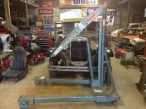 Ruger Hydraulic 2000lb Floor Crane Engine Lift