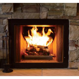 Earth Flame Wood Burning Fireplace Grate Insert 17470948