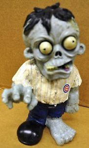 Chicago Cubs Zombie Decorative Garden Gnome Figure Statue New MLB