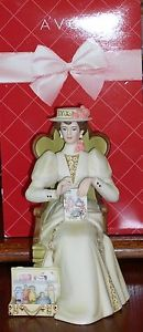 Avon 2011 President's Club Mrs Albee Porcelain Figurine w Box Free SHIP