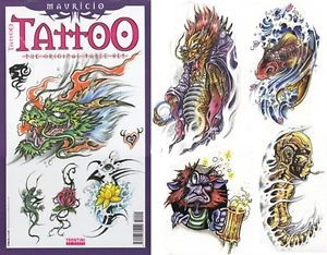 Mauricio Tattoo Flash Design Book 48 Pages Art Supply
