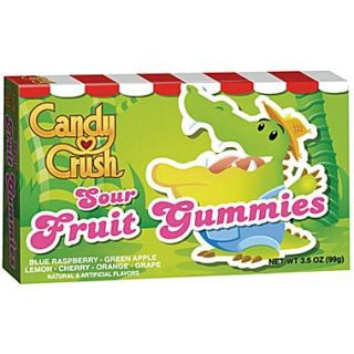 Candy Crush Fruit Gummies, Sour Fruit, 3.5 oz. Box, 12/Pack