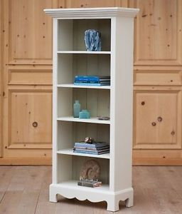 Cottage Style Solid Wood Beach House Bookcase 30 Paints Stains Fine Bench Built