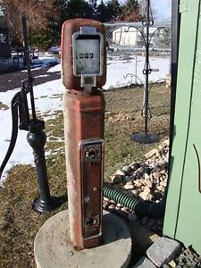 Vintage Eco Air Meter Gas Station Air Pump Eco Islander Echo Islander RARE RARE
