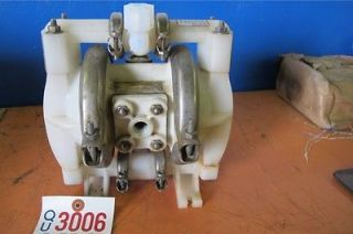 Wilden Air Operated Poly Diaphragm Pump