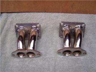 VW Type 1 Dual Port Intake Manifolds Weber Zenith Holley Carb Carburetor