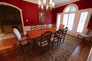 Ethan Allen Dining Room Set Seats 10