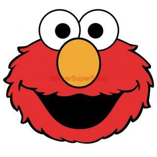 Elmo Face Clipart Choose Size XXL Elmo Face