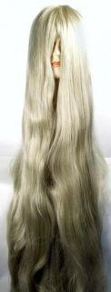 Cousin It Costume Wig Deluxe Plenty of Hair 5 ft Long