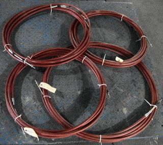 40' Long Push Pull Bus Transmission Shift Control Cable