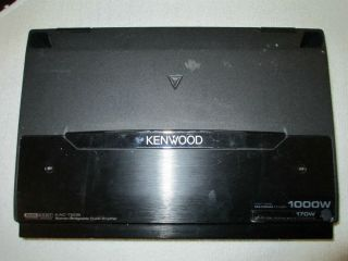 Kenwood KAC 7205 1000W Stereo Bridgeable Power Amplifier 011596270104