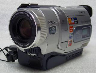 Sony DCR TRV740 Digital8 Camcorder VCR Plays 8mm Hi8 Tapes 60 Days