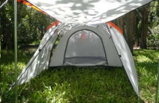Brand New 3 Man Person 2 Room Oxygen Camping Hoop Tent