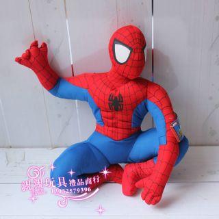 "Amazing Spider Man Defender 17 5"" Plush Doll Stuffed Toy Spiderman Gift C3433"