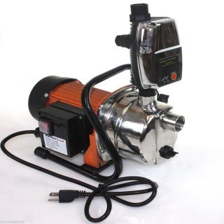 Combo 1 6 HP 1200W Jet Shallow Water Well Booster Pump w Pressure Controller