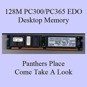 IBM 76H0277 42H2799 128MB IBM PC300 PC365 Aptiva Edo Sec KMM366F1600BK2 6M