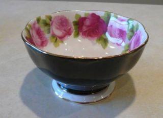 Royal Albert Old English Rose Black 15 Piece Tea Dessert Set