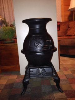 Wood Coal Stove Cast Iron Pot Belly Stove