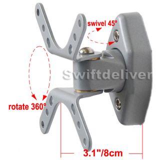 Tilt Swivel LCD LED TV Monitor Wall Mount Bracket 15 17 19 20 22 23 24 26 27 CZC