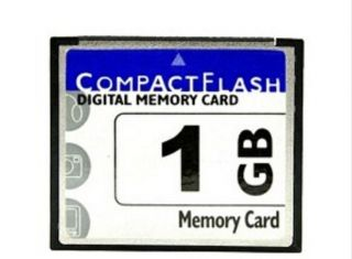 High Speed 1GB Compact Flash CF Memory Card 1g 1 GB Capacity New