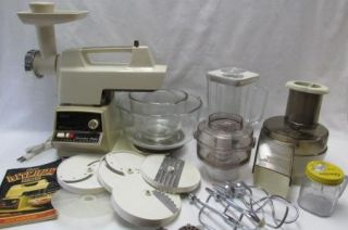 Oster Regency Kitchen Center Complete with EXTRAS Manual