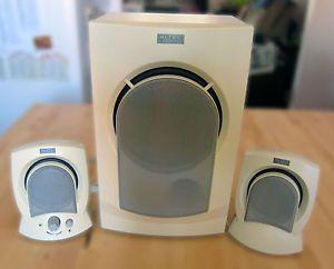 Altec Lansing Computer Speaker System Powered Subwoofer AVS300 Works Great