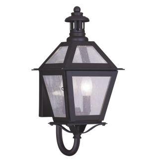 New 2 Light XS Solid Brass Colonial Outdoor Wall Lamp Lighting Fixture Bronze