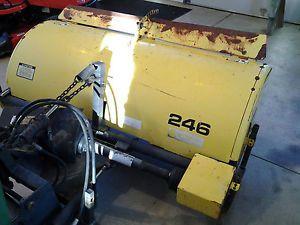 John Deere 246 Broom Sweeper 420 430 Lawn and Garden Tractor Front Deck Mower