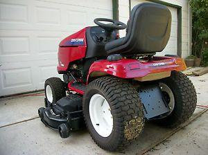 ... Craftsman GT 5000 Lawn Garden Tractor Mower 54 Inch Deck ...