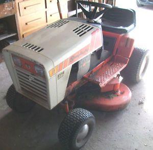 Simplicity 5116 Special Riding Lawn and Garden Tractor Mower 16HP Briggs