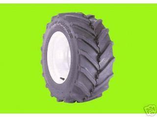Two 23x8 50 12 Carlisle Tru Power Lawn Mower Garden Tractor Lug Tires 23 850 12