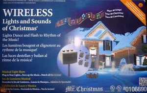 mr christmas wireless lights and sounds outdoor light show halloween - Mr Christmas Lights And Sounds Of Christmas Outdoor