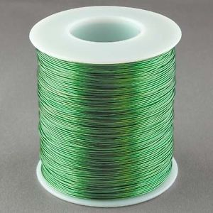 Magnet Wire 24 Gauge AWG Enameled Copper 800 Feet Tattoo Coil Winding 155C Green