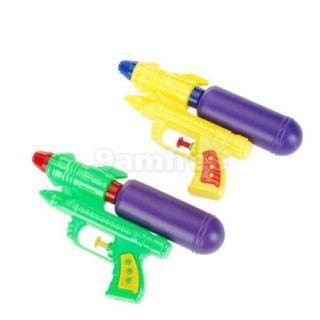 Water Squirt Gun Pistol Pump Action Sprayer Shooter Kid Toy Air Pressure 19cm