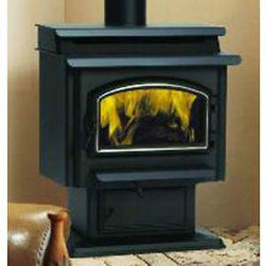 Majestic Savannah Series Medium Size Wood Burning Stove Model SSW30STAPB