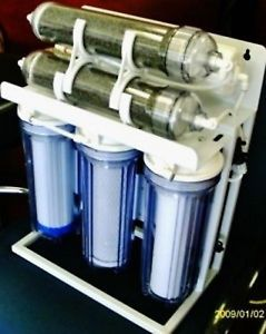 Aquarium Reef Reverse Osmosis Filter System 7 Stage Booster Pump UV 150 GPD
