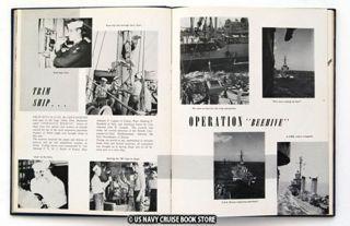 USS Shenandoah Ad 26 Mediterranean Cruise Book 1952
