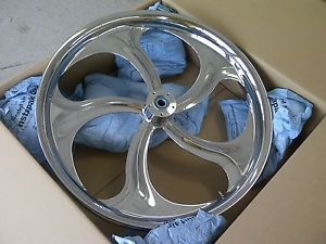"""26"""" inch Chrome Wheel Tire Street Road Glide King Roxy Front Harley 26 Bagger"""