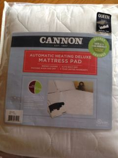 Dual Control Queen Size Heated Mattress Pad