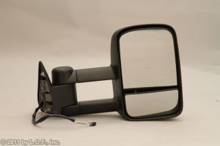 Chevy GMC Truck Telescoping Power Towing Tow Side Mirrors Pair Set INSTOCK