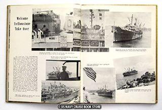 USS Yellowstone Ad 27 Mediterranean Cruise Book 1953