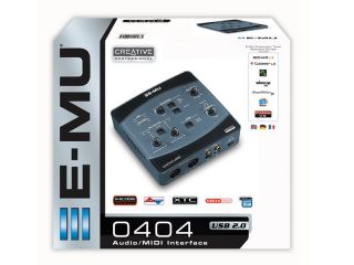 Creative Profressionl E MU 0404 USB Audio MIDI Black