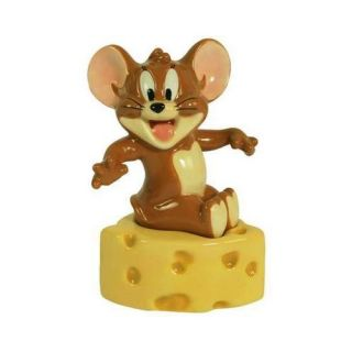 Westland Giftware Mouse Tom Jerry Swiss Cheese Salt and Pepper Shakers Set