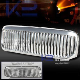 1999 2004 Ford F250 F350 Chrome Vertical Grill Grille