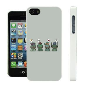 Cover for iPhone 4 Teenage Mutant Ninja Turtles TMNT Case Screen Protector 3